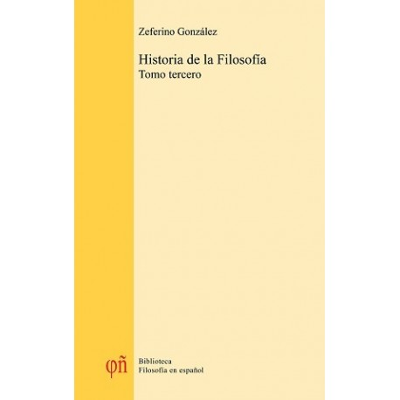 Historia de la filosofía (Tomo 3)